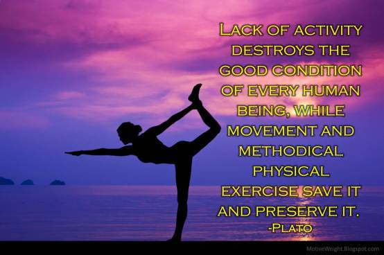 Lack of activity destroys - MotiveWeight.Blogspot.com